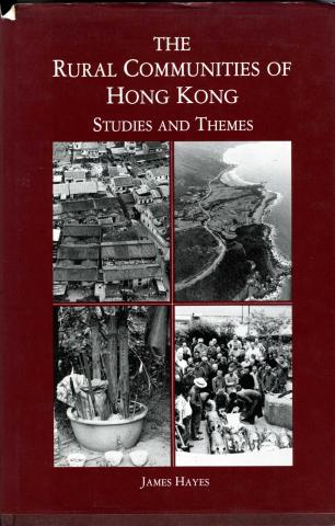 The Rural Communities of Hong Kong-book published 1983