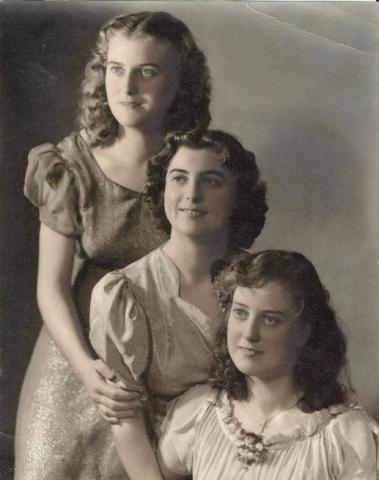 The three sisters in 1940