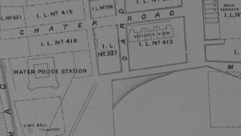 1901 Map of TST