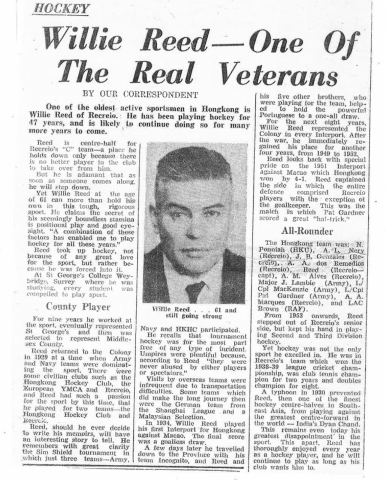 Willie Reed SCMP article 1967.png