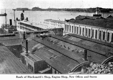 Workshops of HJ & Whampoa & Dock Co. - 1920s