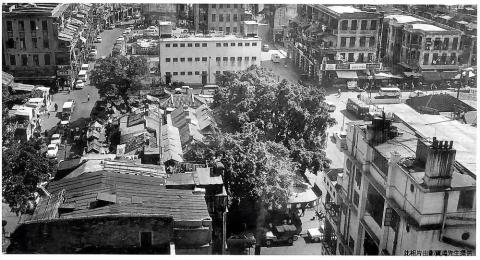 Yau Ma Tei at Public Square Street and Shanghai Street 1950s