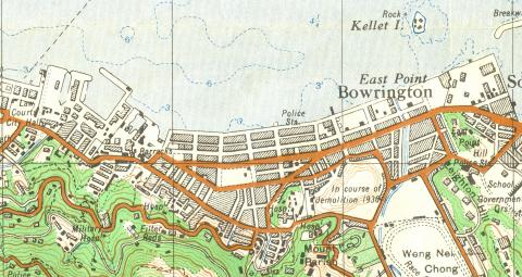 1930 map section