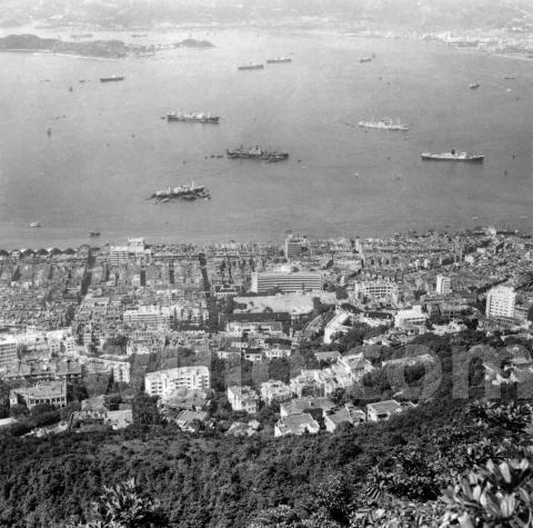 c.1955 view over Sai Ying Pun