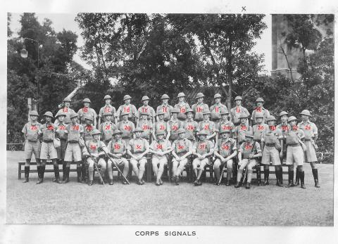Hong Kong Volunteer Defence Corps (Signals) Christmas photo 1939