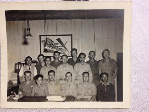 Andrew Chan with 315th Flying Tigers(?) Chindits(?)