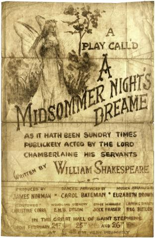 A Midsommer Night's Dreame