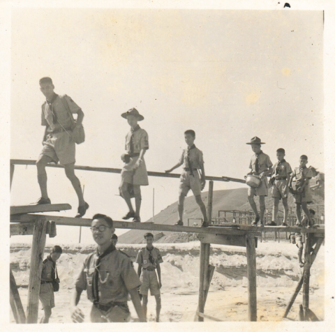 15HKG Scouts Outing, c1950, 2