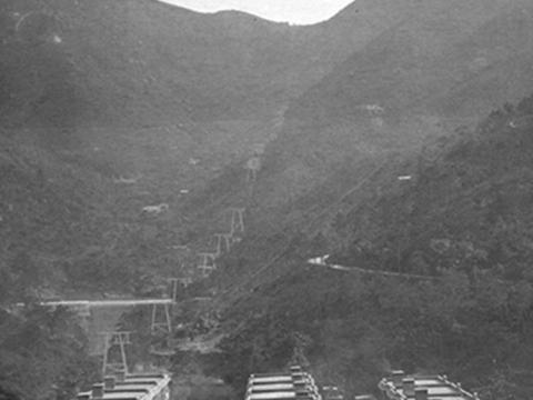 Pylons for the Taikoo Aerial Ropeway