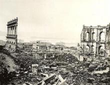 1945 Ruin after the war (Queen's College)