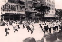 1958 Parade at Nathan Rd, Jordan
