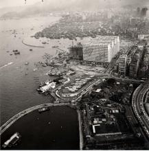 Jordan Road Ferry and Typhoon Shelter 1965