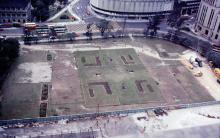 1978 Construction of Chater Garden