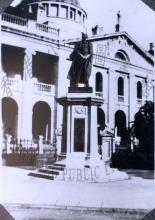 1920 Statue of King George V, Statue Square = 英皇佐治五世銅像