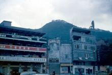 Hennessy road, Wan Chai in 1955