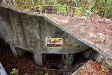 Jubilee Battery no. 2  Gun Emplacement Ammunition Storage