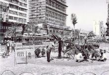 1965 rest garden at the intersection between Nathan Road and Gascoigne Road