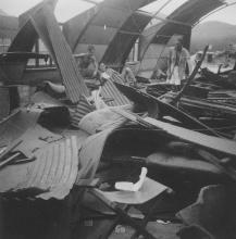 Typhoon damage at Kai Tak airport (1)
