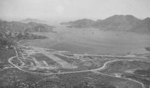 Kai Tak airport (As seen from Lion Rock)