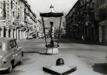 1959 Traffic Pagoda - Junction of Hennessy Road and Fenwick Street