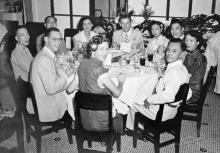 Holland-China Trading Company dinner, Hong Kong 1950