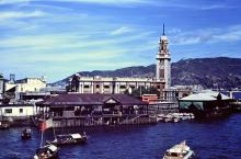 1954 Kowloon Star Ferry Piers