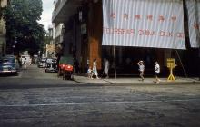 1959 Junction of Tak Shing Street and Nathan Road