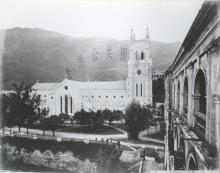 St. John's Cathedral from former French Mission Building