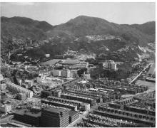 1950s Aerial view of Causeway Bay and Leighton Hill