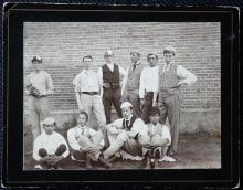 Cricket Group, ca. 1910 Hong Kong