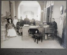 Holland China Trading Company: Hong Kong compradores office, 1918