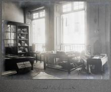 Holland China Trading Company: Hong Kong office samples room, 1918
