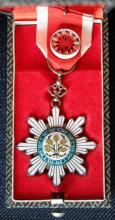 Chinese order of the Golden Rice Blade, issued to Willem Kien, 1920