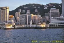 Star Ferry terminal, Central District (Hong Kong), 1980