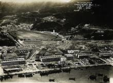 1931 Aerial view of Happy Valley & Bowrington