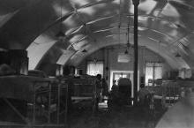 Inside a Nissen Hut of Hong Kong Flotilla (1951)