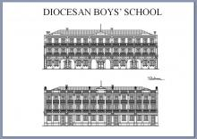 Diocesan Boys' School 1 Mar 1927- 31 Jan 1928 / Mongkok Police Station / Police Training School