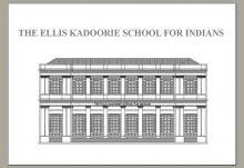 The Ellis Kadoorie School for Indians 育才書社