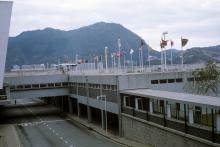1960s Kai Tak Airport Observation Deck