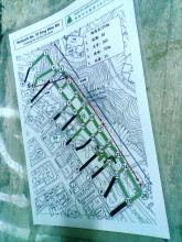 ARP Portal 093, Blue Pool Road, Renovation Map