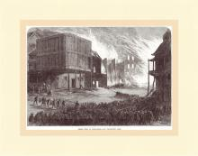 Fire at Hong Kong 1866