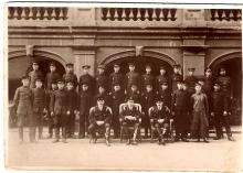 Hong Kong Fire Brigade Staff c1926
