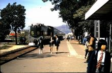 Another photo from the Sheung Shui KCR station, 1974