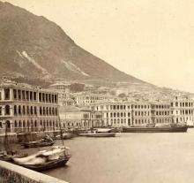 1860s Praya Central (Des Voeux Road)