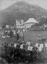 1890s Mount Austin Military Band