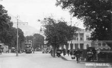 1930s Junction of Queen's Road Central and Garden Road