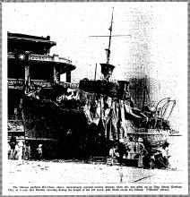 "Chinese gunboat ""Hai Chow"""