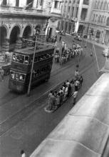 1950s Des Voeux Road Central near Ice House Street