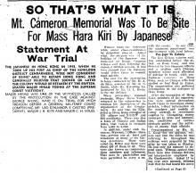 19460403 china mail memorial to be site of mass hara kiri