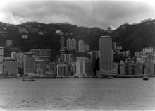 Hong Kong skyline, 1979